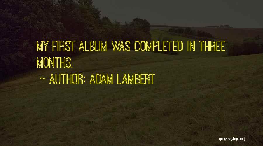 Adam Lambert Quotes 136560