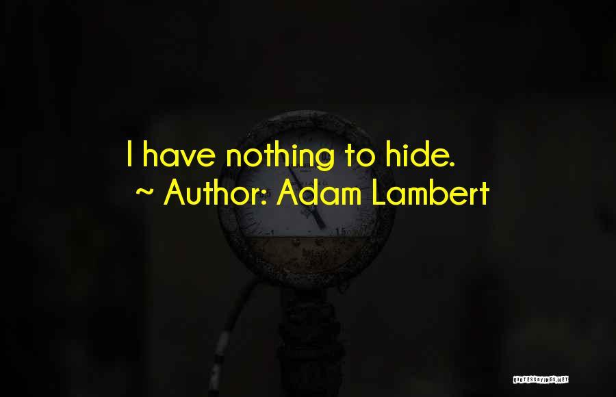 Adam Lambert Quotes 896900