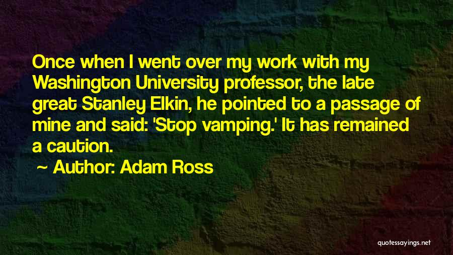 Adam Ross Quotes 1823781
