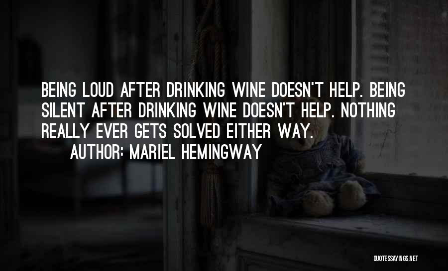 Addiction Recovery Quotes By Mariel Hemingway
