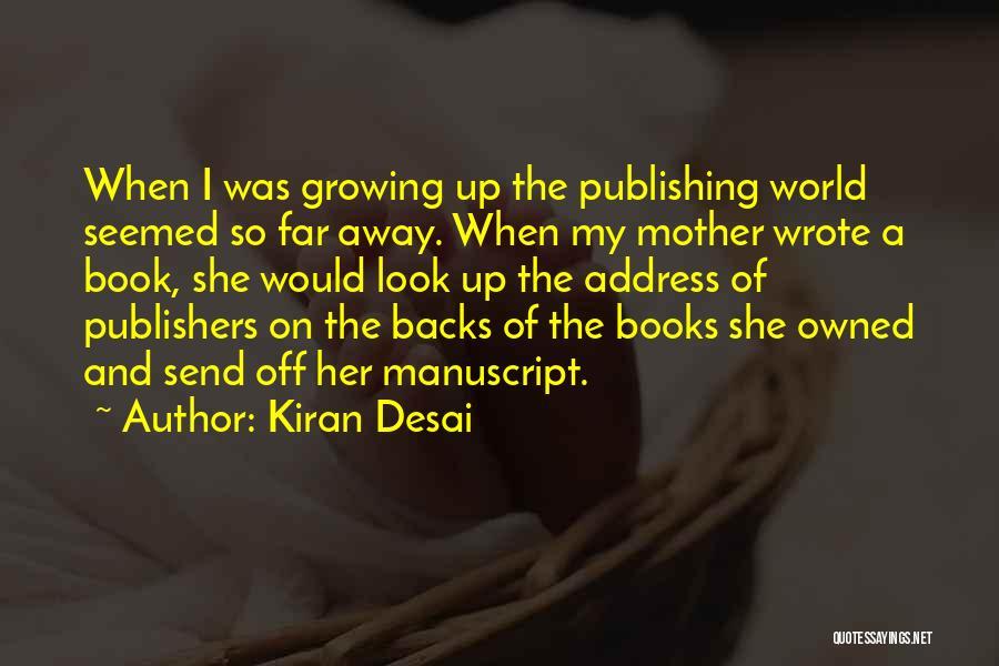Address Books Quotes By Kiran Desai