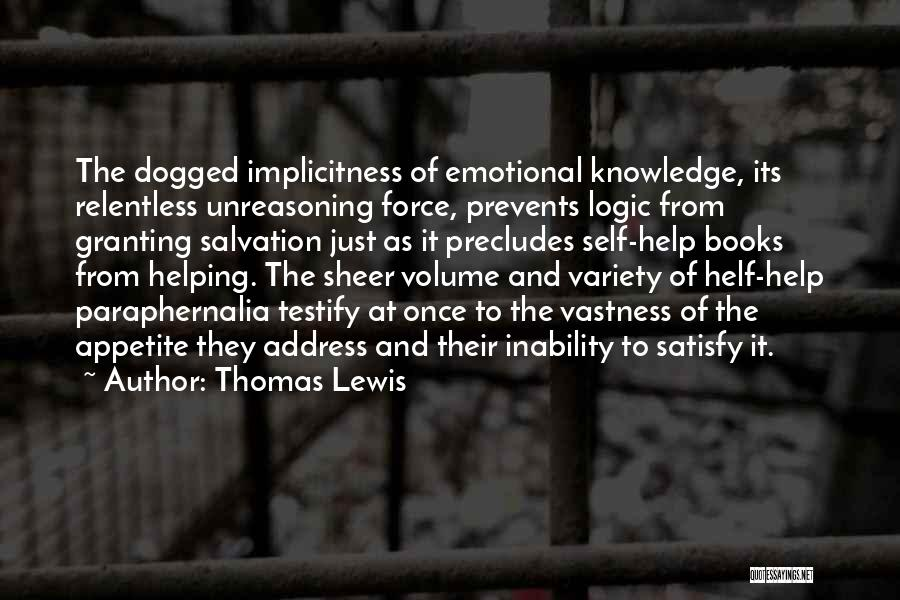 Address Books Quotes By Thomas Lewis