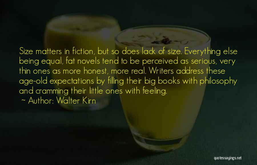 Address Books Quotes By Walter Kirn