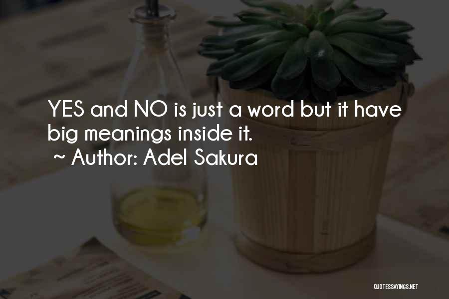 Adel Sakura Quotes 1555112