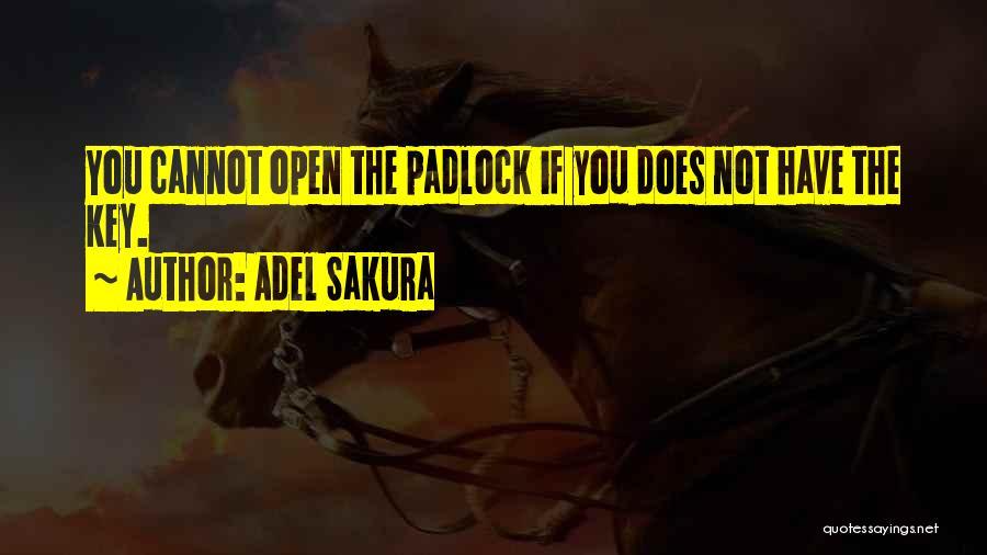 Adel Sakura Quotes 274367