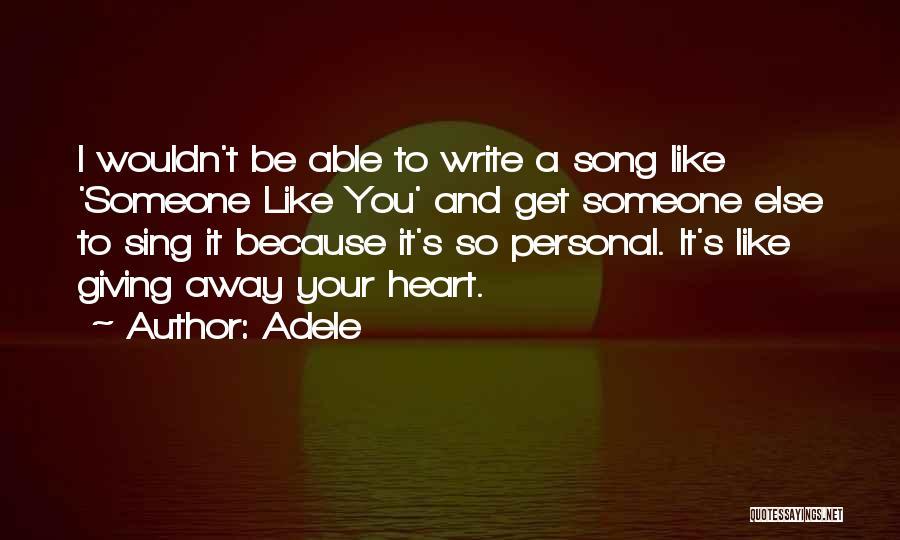 Adele Quotes 1616091