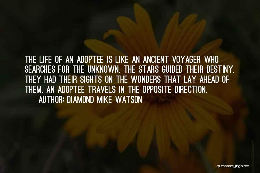 Adoption Journey Quotes By Diamond Mike Watson