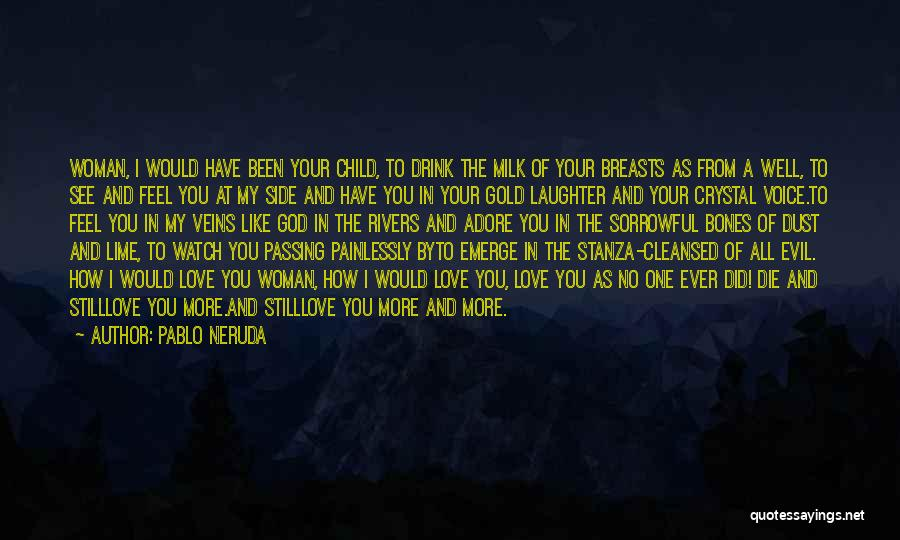Adore You My Love Quotes By Pablo Neruda
