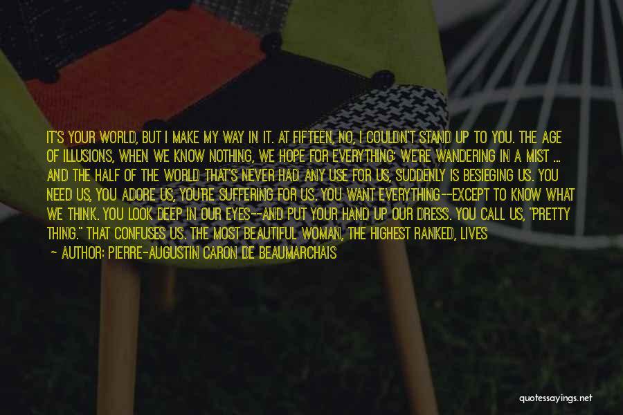 Adore You My Love Quotes By Pierre-Augustin Caron De Beaumarchais