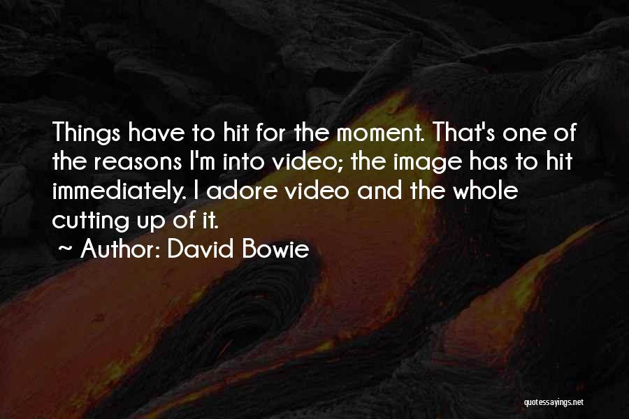 Adore Yourself Quotes By David Bowie