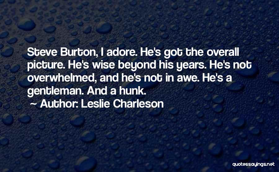 Adore Yourself Quotes By Leslie Charleson