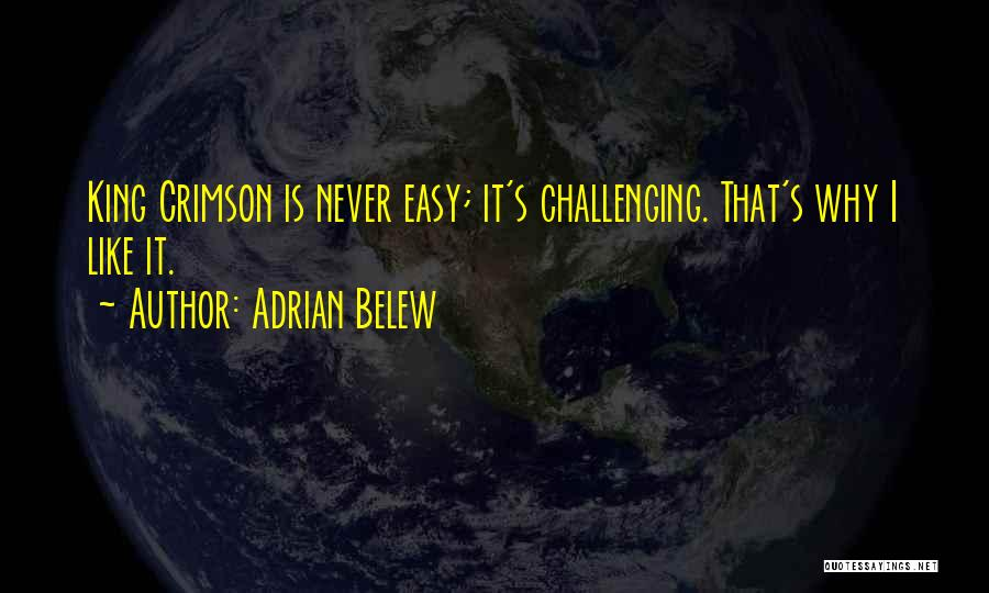 Adrian Belew Quotes 1639123