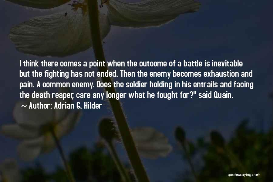 Adrian G. Hilder Quotes 1161256
