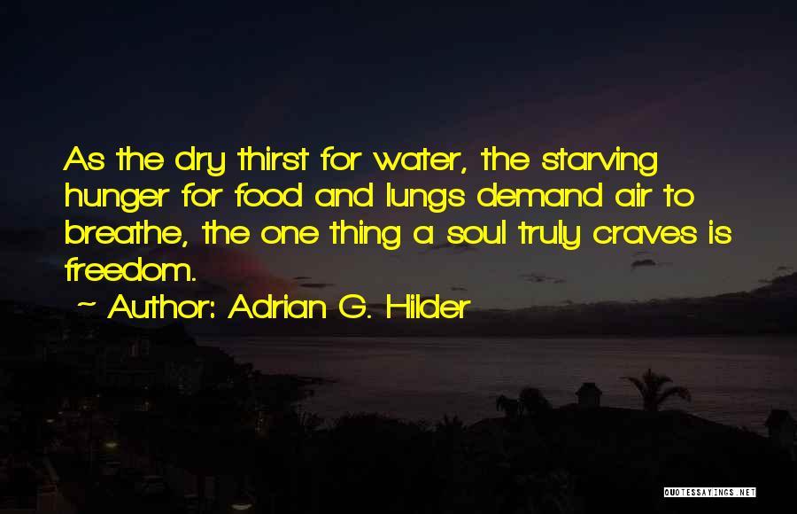 Adrian G. Hilder Quotes 1938711