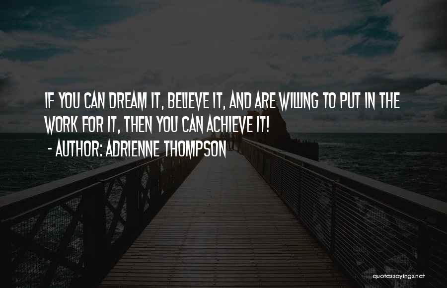 Adrienne Thompson Quotes 2109874