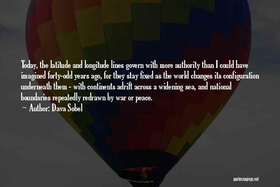Adrift Quotes By Dava Sobel