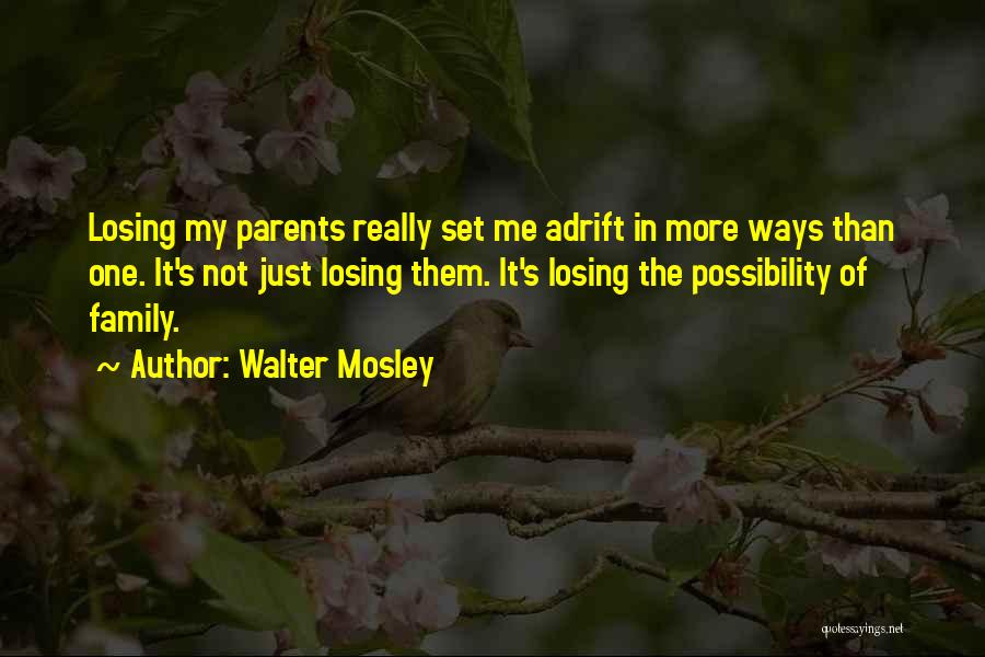 Adrift Quotes By Walter Mosley