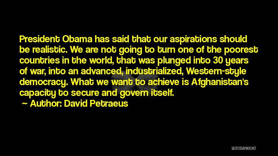 Advanced Style Quotes By David Petraeus