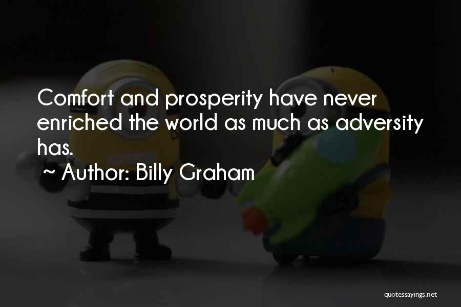 Adversity Quotes By Billy Graham