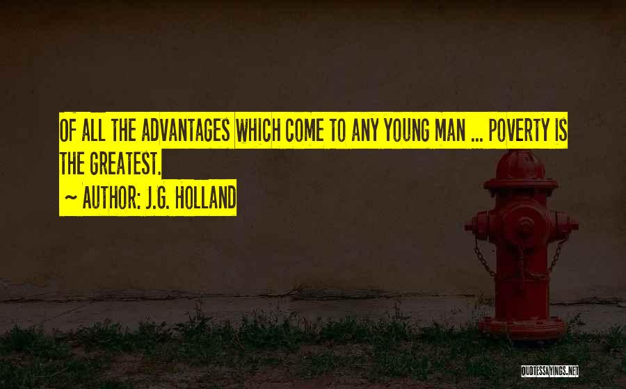 Adversity Quotes By J.G. Holland