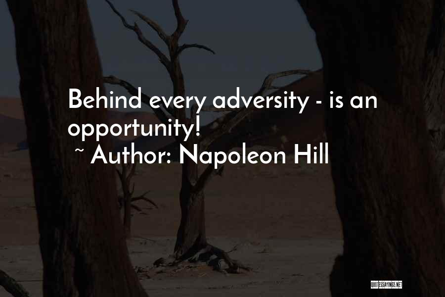 Adversity Quotes By Napoleon Hill
