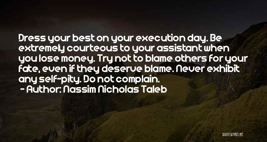 Adversity Quotes By Nassim Nicholas Taleb