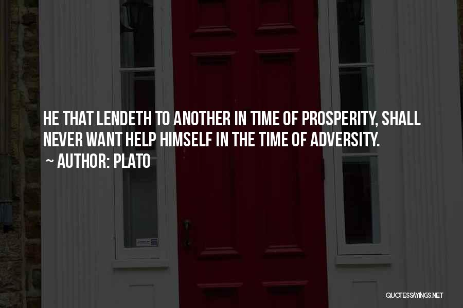 Adversity Quotes By Plato