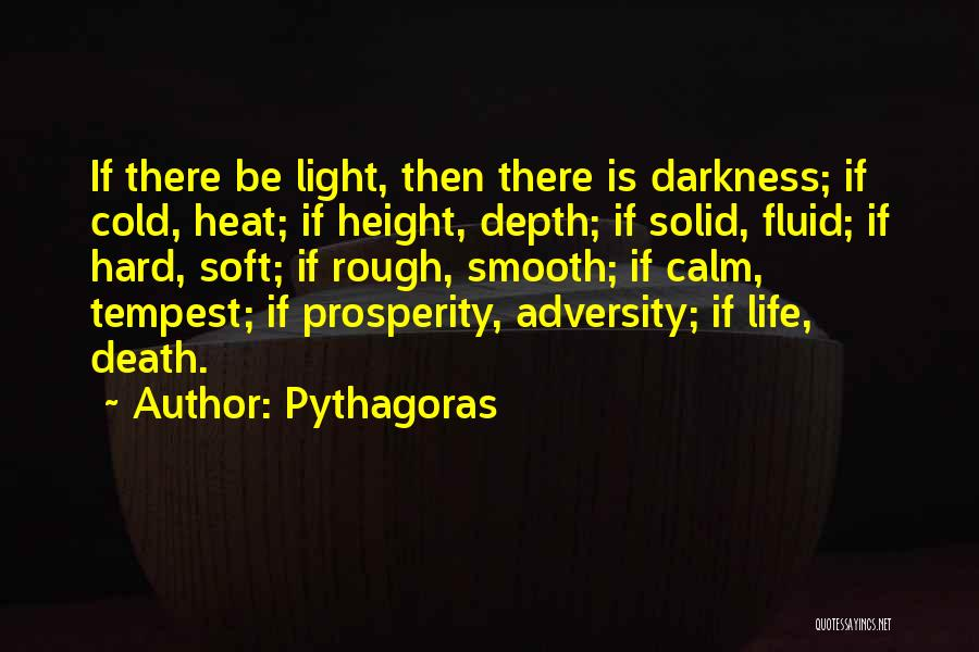 Adversity Quotes By Pythagoras