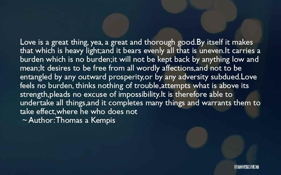 Adversity Quotes By Thomas A Kempis