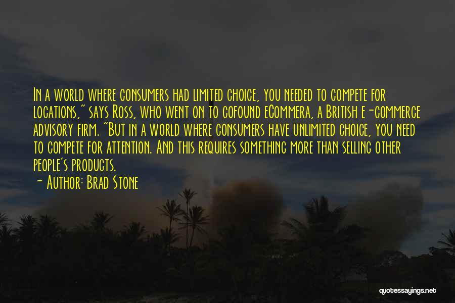 Advisory Quotes By Brad Stone