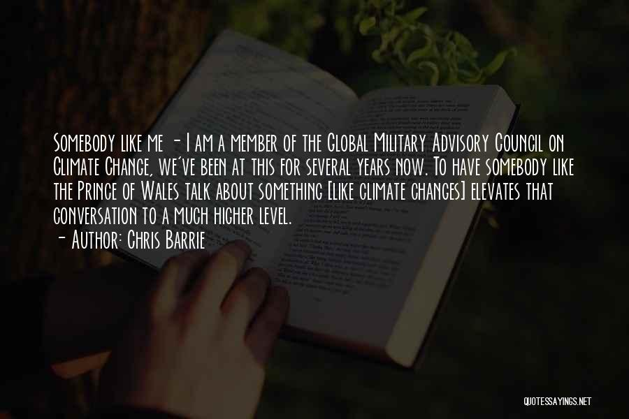 Advisory Quotes By Chris Barrie