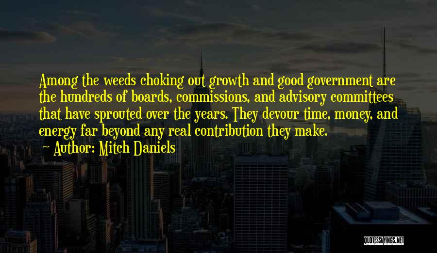 Advisory Quotes By Mitch Daniels