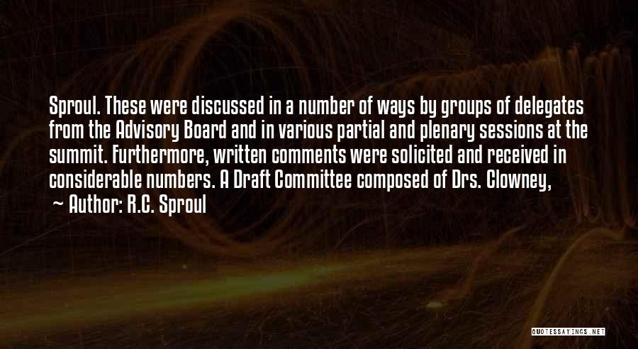 Advisory Quotes By R.C. Sproul