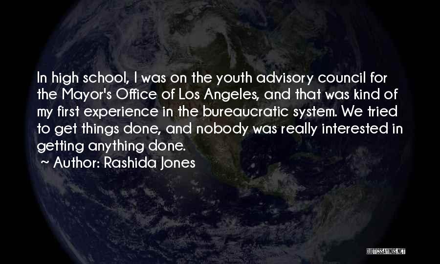 Advisory Quotes By Rashida Jones