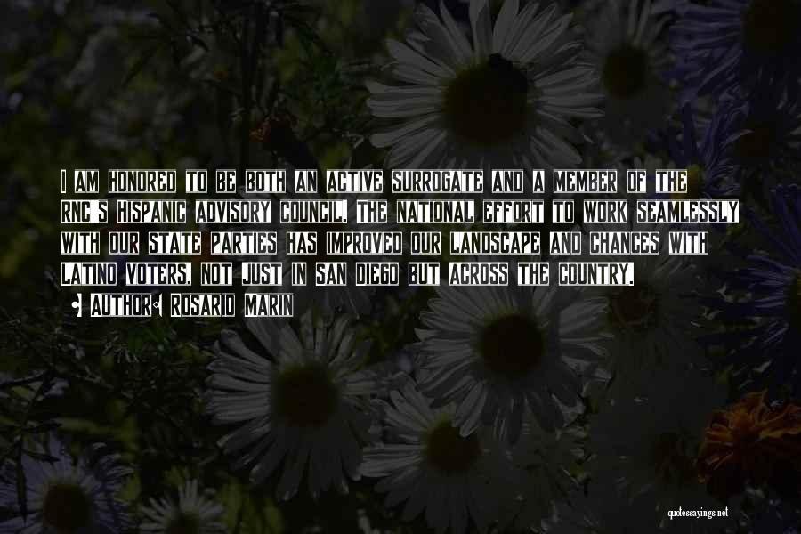 Advisory Quotes By Rosario Marin