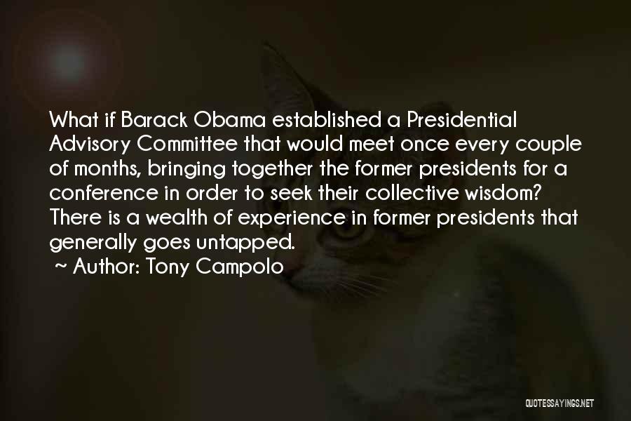 Advisory Quotes By Tony Campolo