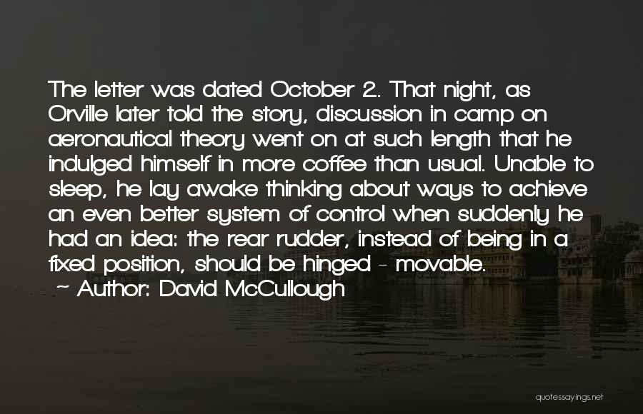Aeronautical Quotes By David McCullough