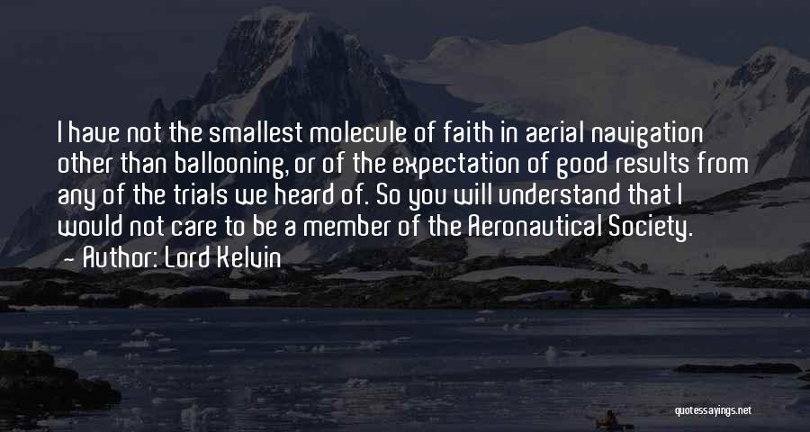 Aeronautical Quotes By Lord Kelvin