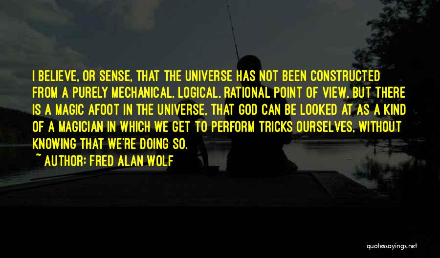Afoot Quotes By Fred Alan Wolf