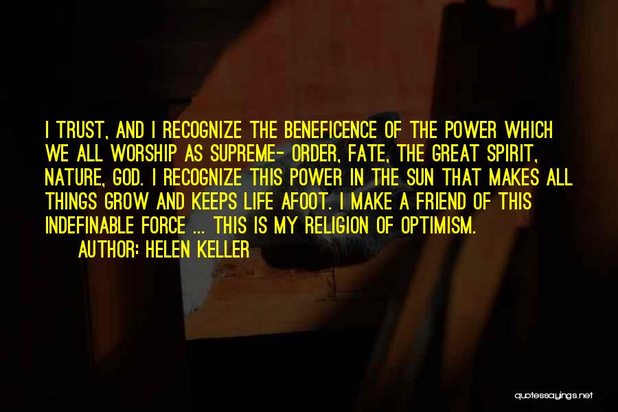 Afoot Quotes By Helen Keller