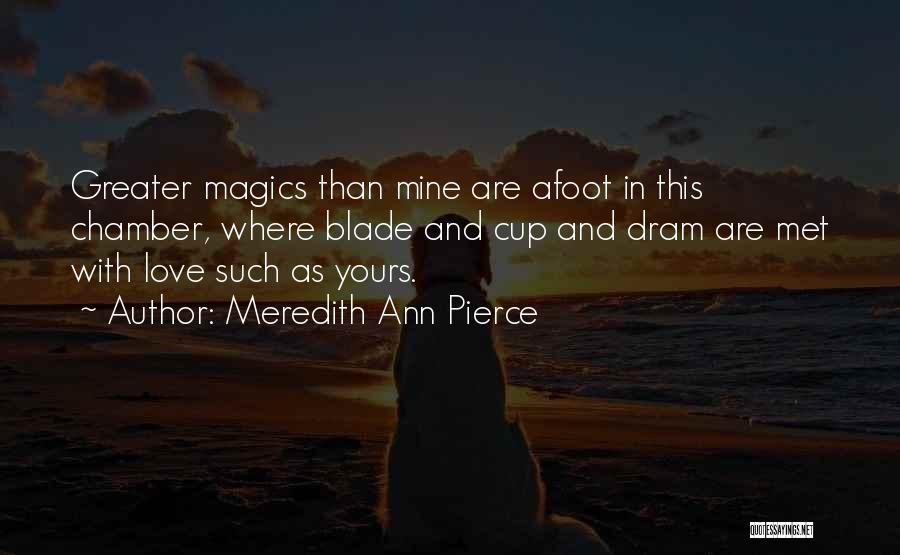 Afoot Quotes By Meredith Ann Pierce