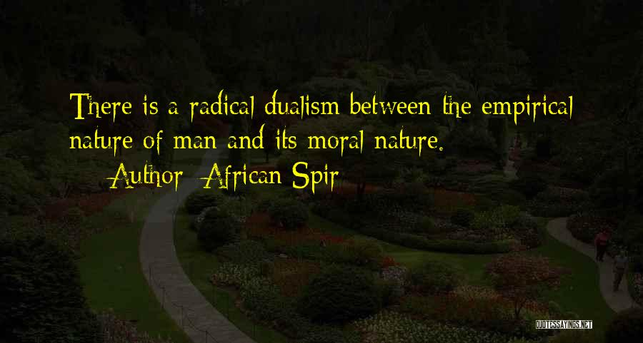African Spir Quotes 1261895