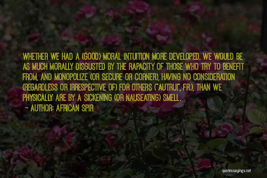 African Spir Quotes 153889