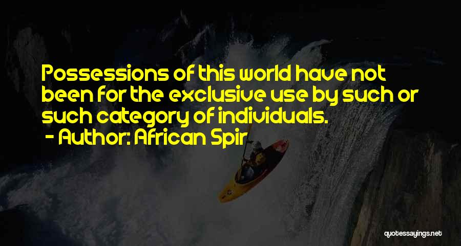 African Spir Quotes 1688461
