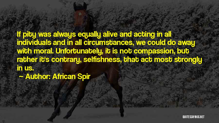 African Spir Quotes 2177375