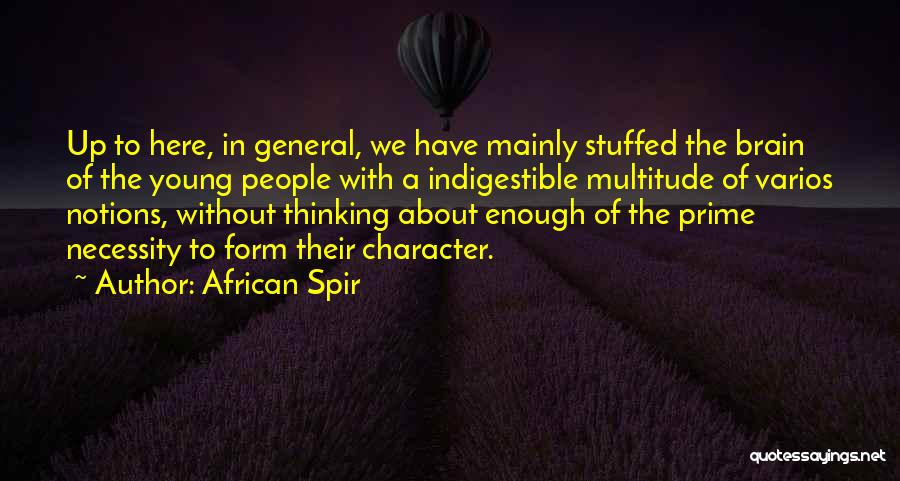 African Spir Quotes 2222179