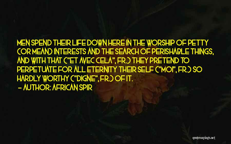 African Spir Quotes 352191