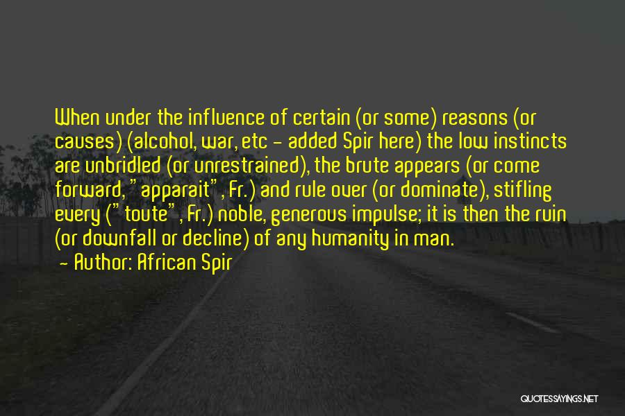 African Spir Quotes 783957