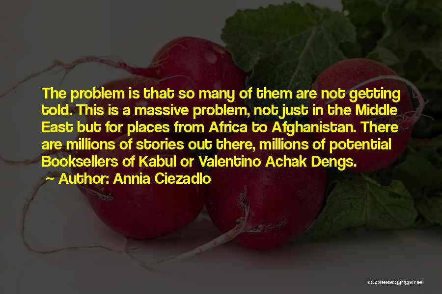 Africa's Potential Quotes By Annia Ciezadlo