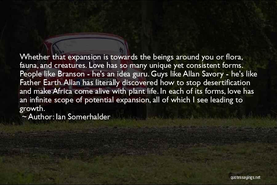 Africa's Potential Quotes By Ian Somerhalder